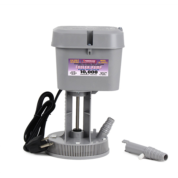 230v Pump For Single Inlet Coolers Dial Manufacturing Inc