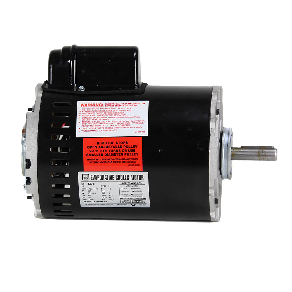 1 hp 2 speed single inlet motor dial manufacturing inc for High speed motors inc